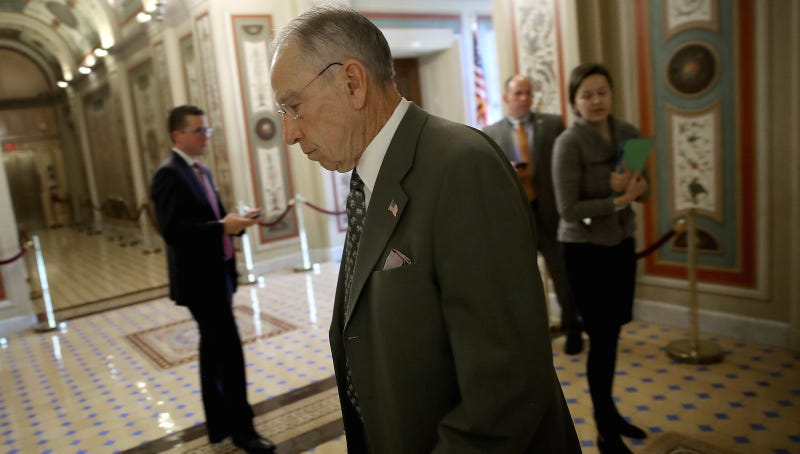 Grassley Criticized for Colorful Estate Tax Comments