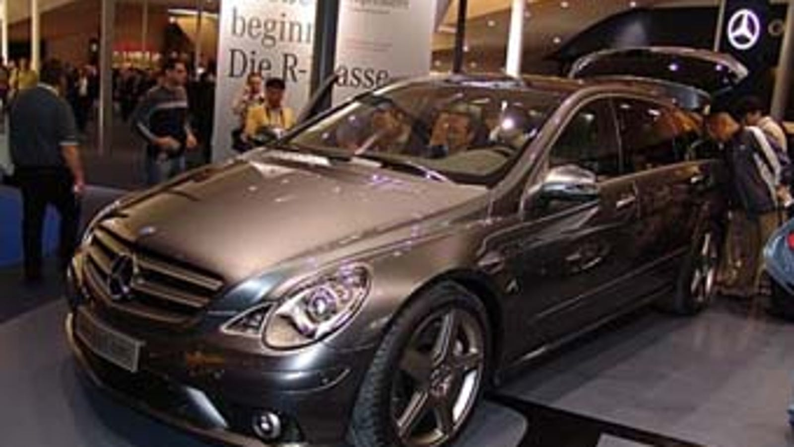 nice price or crack pipe: 500-horsepower 2007 mercedes-benz r63 amg