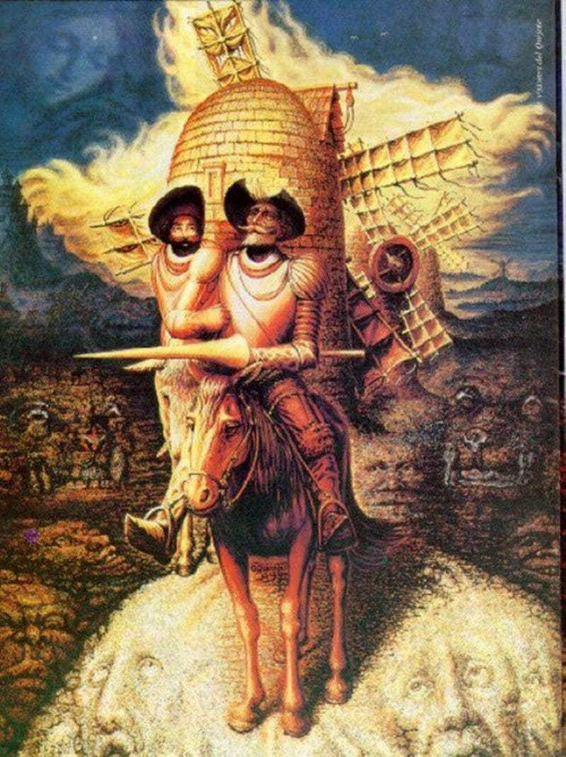 Illustration for article titled Terry Gilliam's Don Quixote Film Is Now A Super Meta Modern-Day Movie