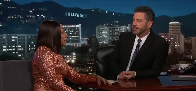 Tiffany Haddish, Jimmy Kimmel