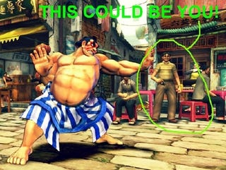 Illustration for article titled Your Picture Here — in Street Fighter IV