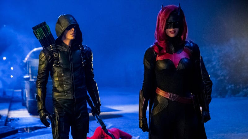 Hopefully this means we can expect way more Batwoman crossovers in the future.
