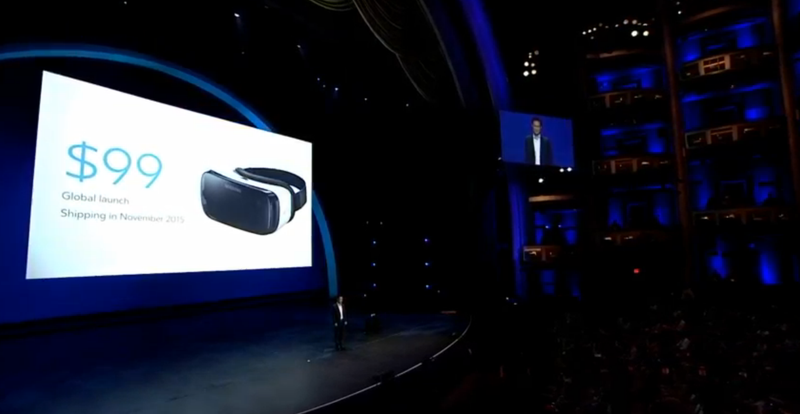 Illustration for article titled Samsung's New Gear VR Only Costs $100