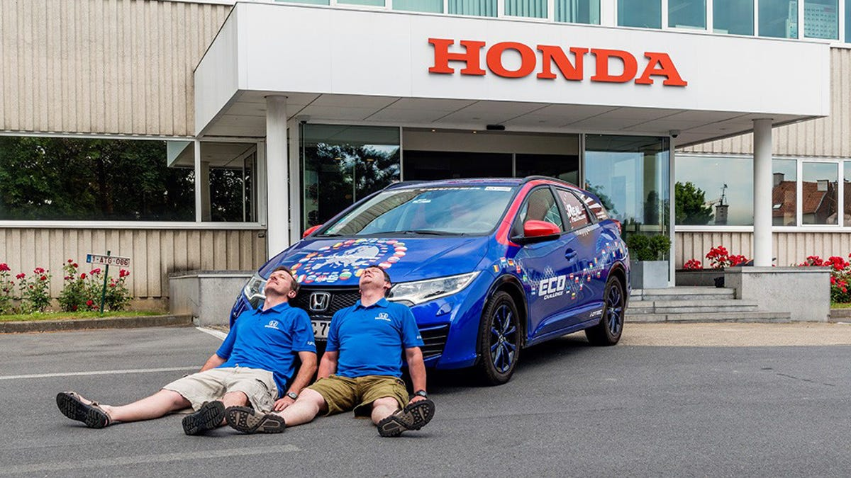 This 100 MPG Honda Is The World\'s Most Efficient Wagon