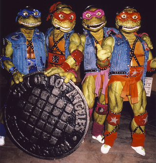 Illustration for article titled When the Ninja Turtles played Radio City Music Hall, your childhood died