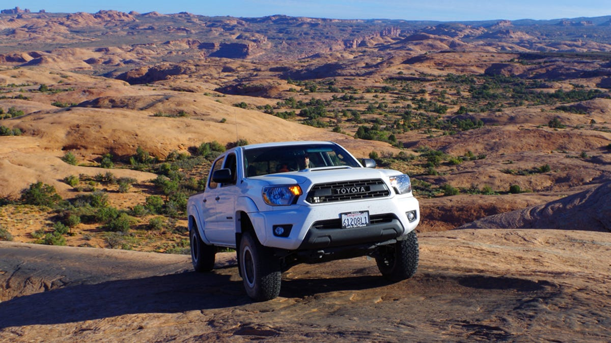 Why The 2015 Toyota Tacoma TRD Pro Is A Cool Idea With Weak