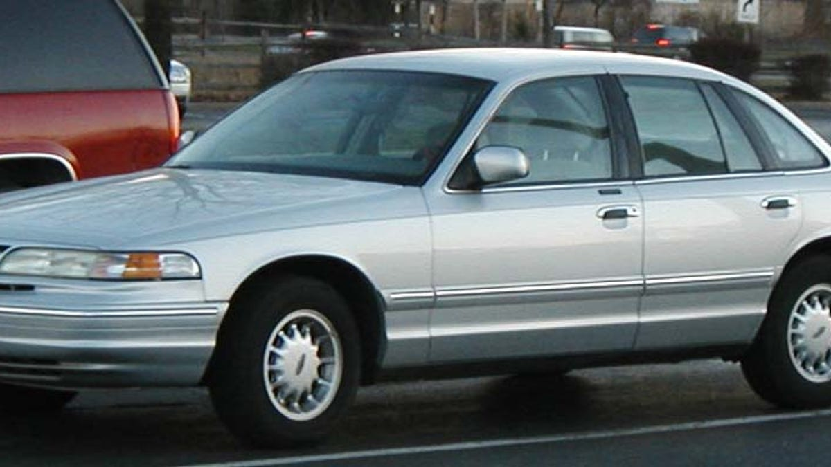 Friday Flashback 1995 Ford Lineup North America Crown Victoria