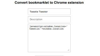 Illustration for article titled Convert a Bookmarklet to a Chrome Extension with a Few Clicks
