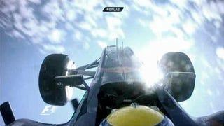 Illustration for article titled Red Bull Gives Webber Wings In European Grand Prix Crash