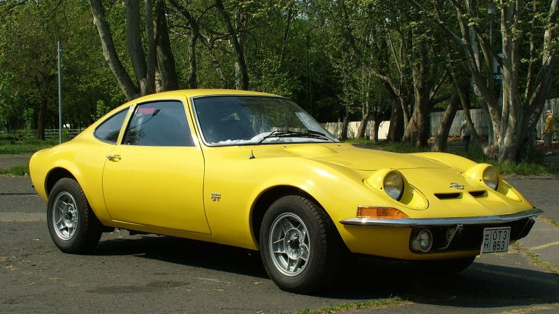 Who makes opel gt