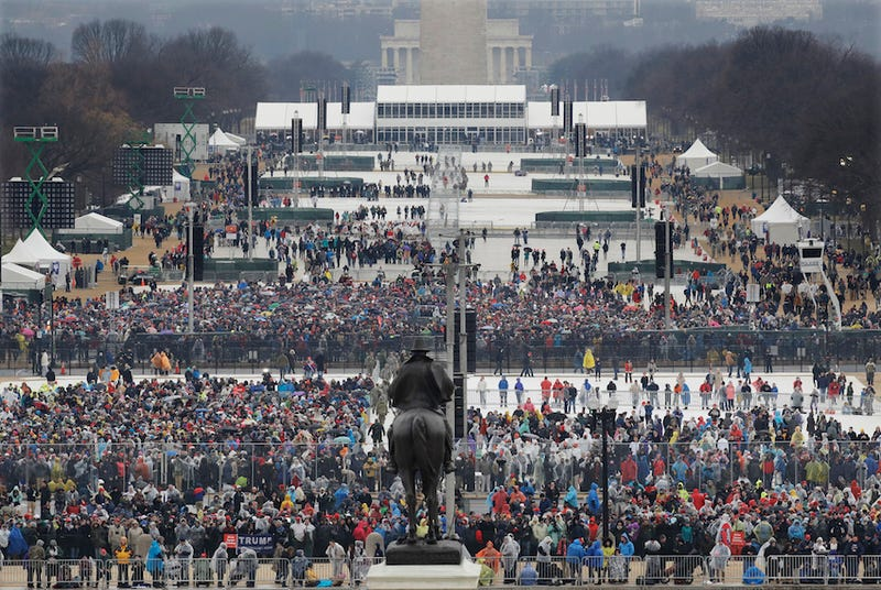 Photo of a very impressive turnout via AP