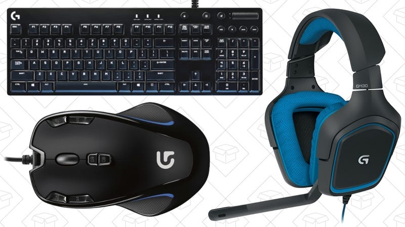 Logitech Gaming Discounts, promo code PCGAMEDEAL
