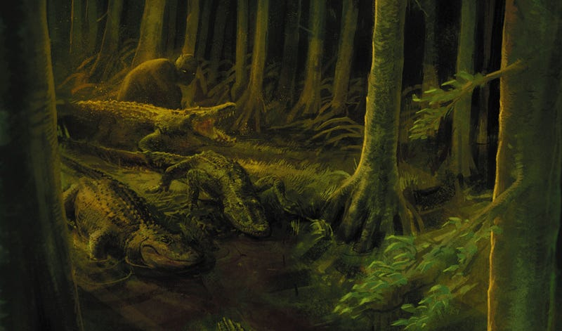 Redlands #3 delivers a sensual, spooky horror story in the Florida swamp