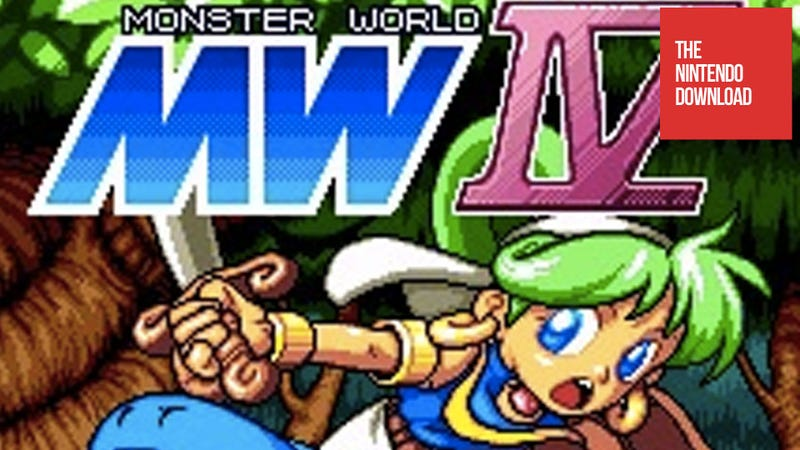 Monster World IV Makes Its North American Debut in Today's