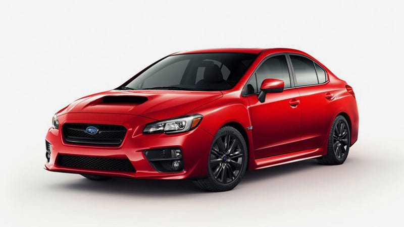 Illustration for article titled 2015 Subaru WRX: This Sure Looks Like It