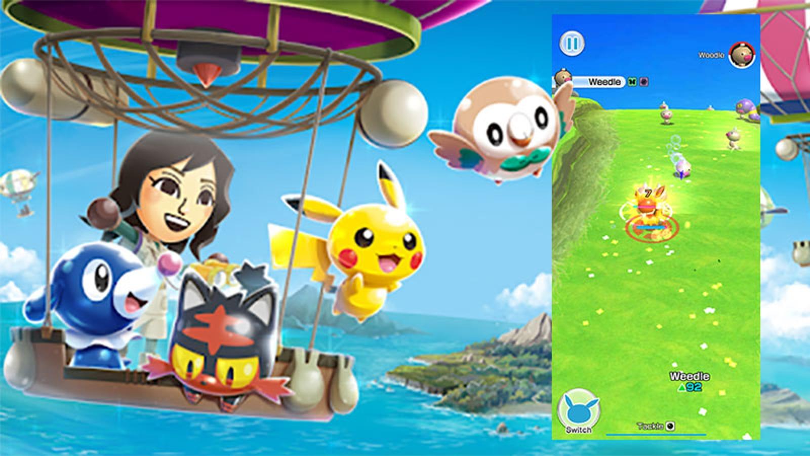 Pokémon Rumble Rush Is As Basic As Pocket Monster Battling Gets