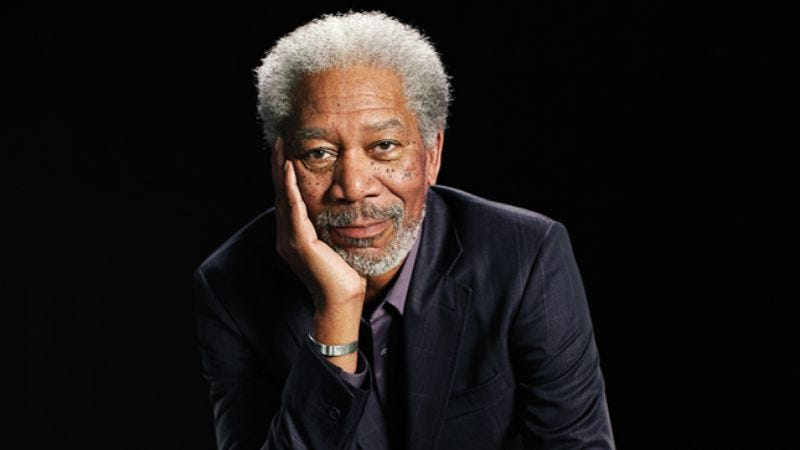 Illustration for article titled Photographic evidence from Large Hadron Collider confirms existence of Morgan Freeman