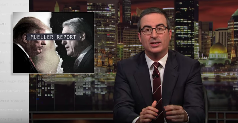 Illustration for article titled John Oliver says when incompetence and disloyalty are your only defense, you're fucked