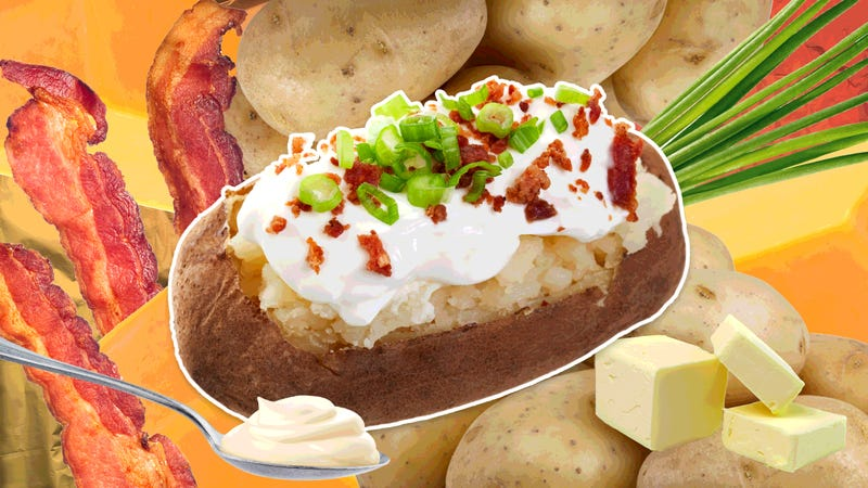 potatoes not from an oven - Americas Test Kitchen Baked Potato