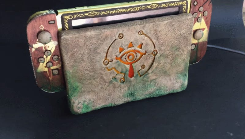 That Is One Fancy Zelda-Themed Switch