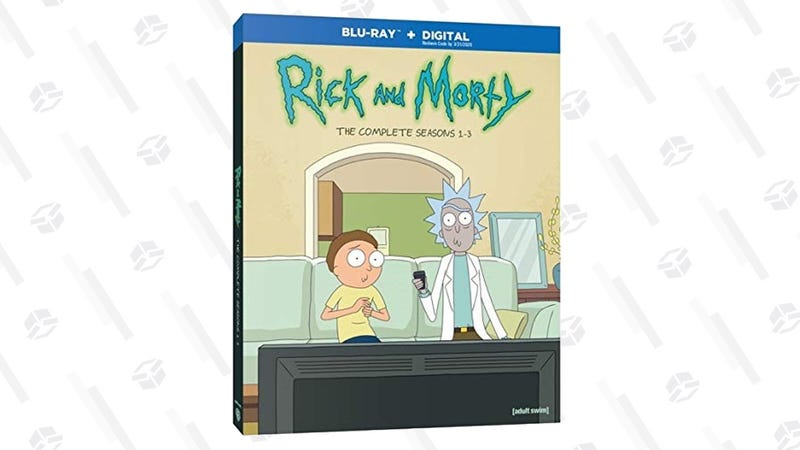Rick and Morty S1-3 Blu-ray/Digital   $50   Amazon