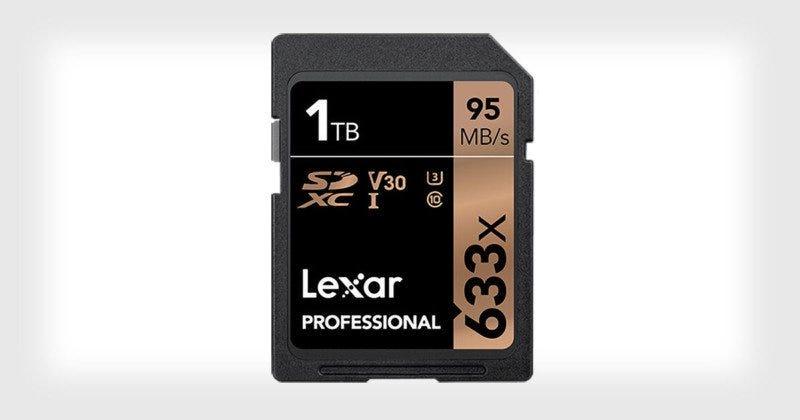 Illustration for article titled Lexar lanza la primera tarjeta SD de 1TB en el mundo