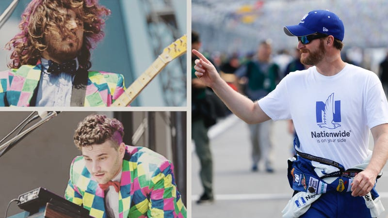 Illustration for article titled Best Band Name Ever Dale Earnhardt Jr. Jr. Drops Driver From Their Name
