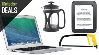 Illustration for article titled Deals: $250 Off MacBook Airs, A Nook to Root, $160 KitchenAid Mixer