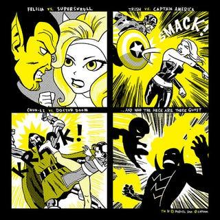 Illustration for article titled T-Shirt Teases Viewtiful Joe And Dormammu For Marvel Vs. Capcom 3