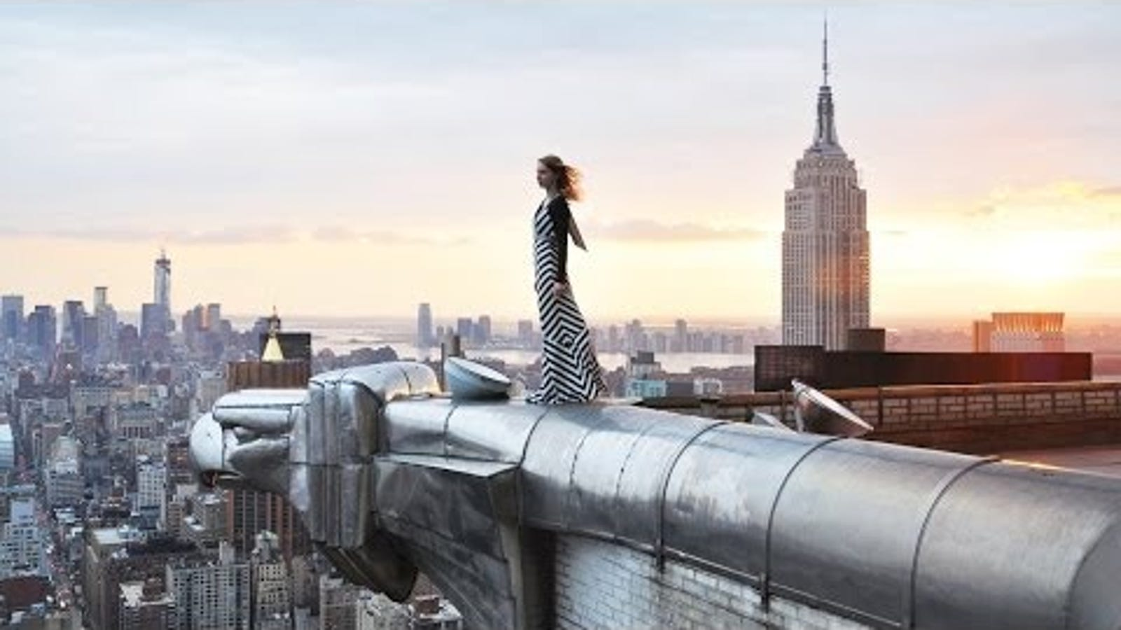 Sitting on top of the world never looked so good... and terrifying