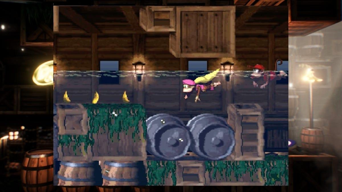 Modded Borders Make The SNES Classic Even Prettier