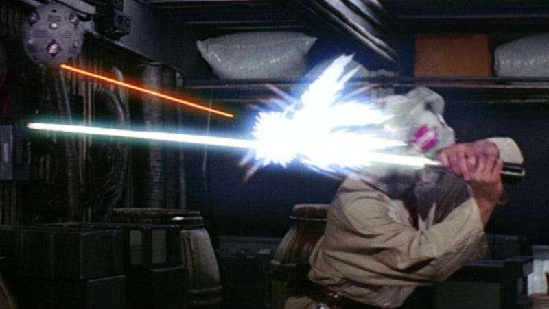 Illustration for article titled Disney May Have Found a Way to Deflect Lasers With a Lightsaber