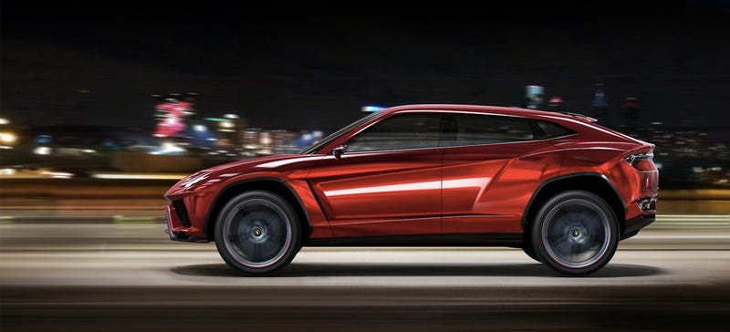 Illustration for article titled The Lamborghini SUV Is Confirmed For 2018, Whether You Like It Or Not