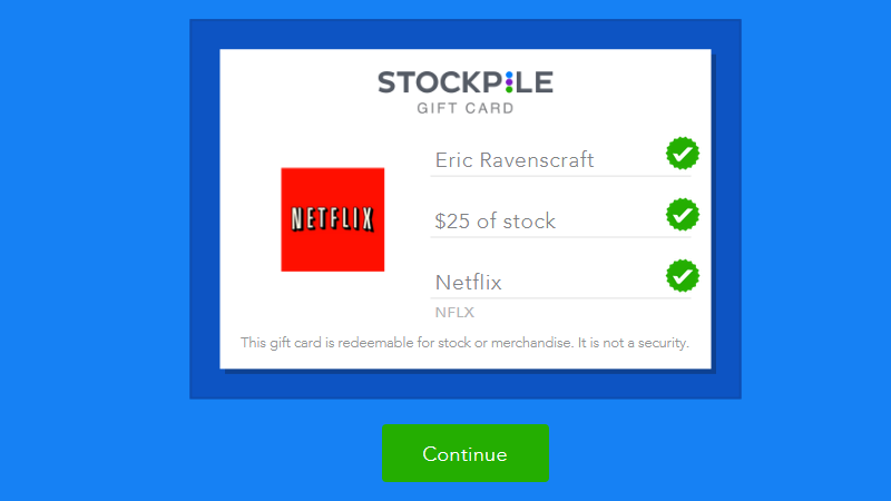 Illustration for article titled Stockpile Lets You Give Gift Cards for Company Stock