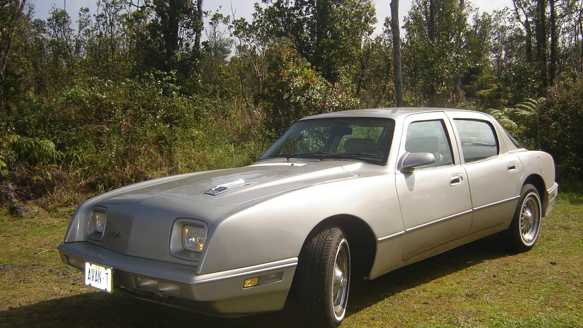 Could This 1990 Avanti LTS Four-Door Be Worth $28,000? It's Got