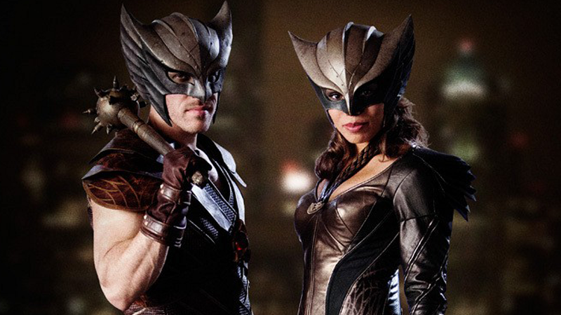 Illustration for article titled Behold the Bronzed Brilliance ofLegends of Tomorrow's Hawkman and Hawkgirl