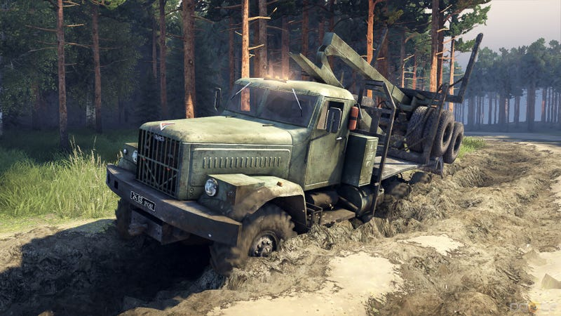 Illustration for article titled Spintires on Sale for $10. Get it now!