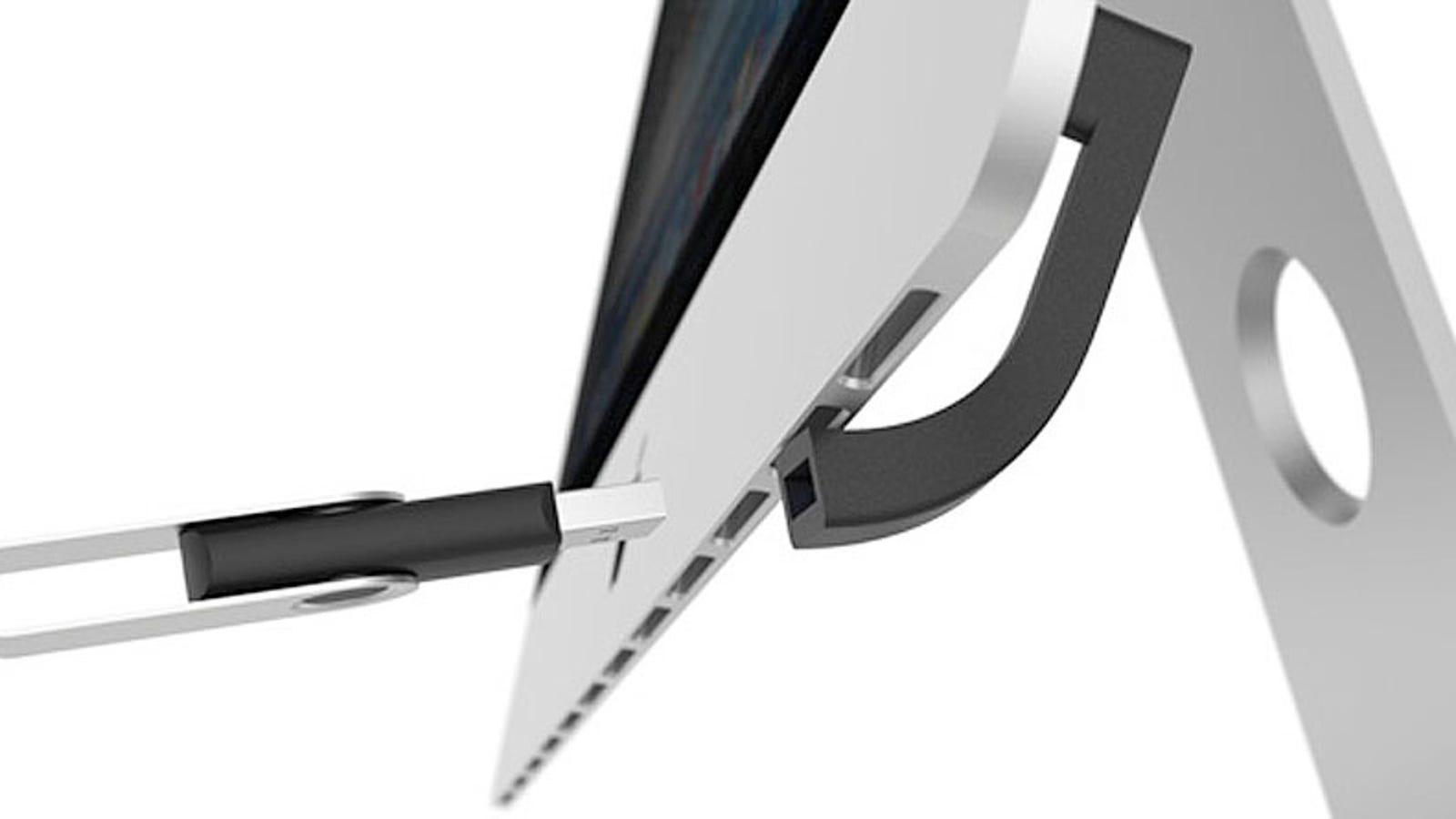 Jimi, un conector de diseño que soluciona un fallo típico de los iMac