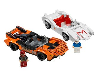 Illustration for article titled Speed Racer Lego Sets Hit Store Shelves In April, We Like The Real Mach 5 Better