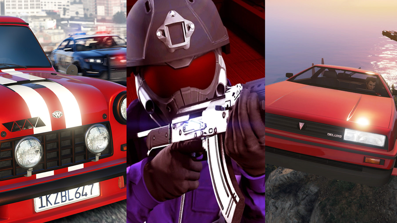 Illustration for article titled GTA Online's New Modes Are More Creative Than You'd Expect