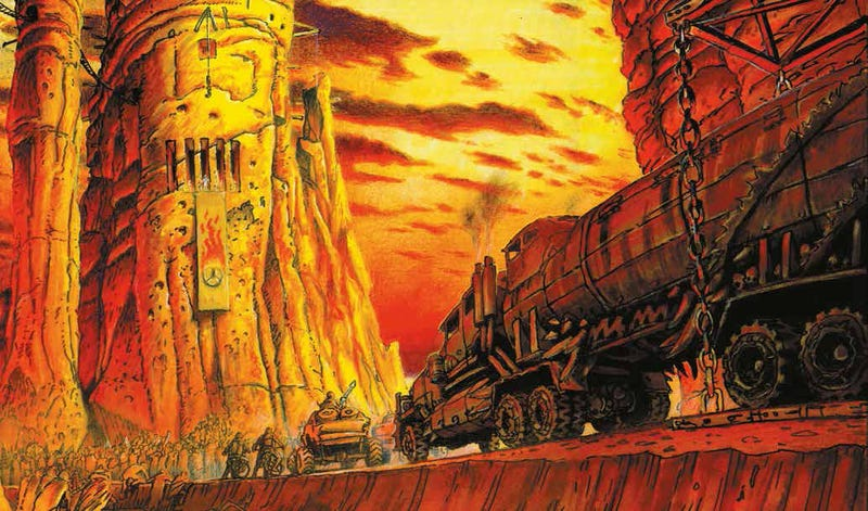 Así es el salvaje arte conceptual que dio vida a Mad Max: Fury Road