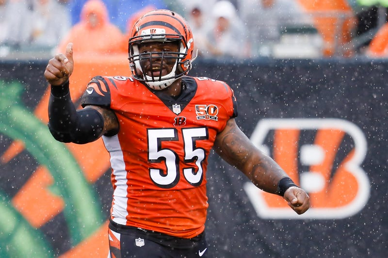 Illustration for article titled Vontaze Burfict Earns Suspension Without Hurting Anyone, For Once