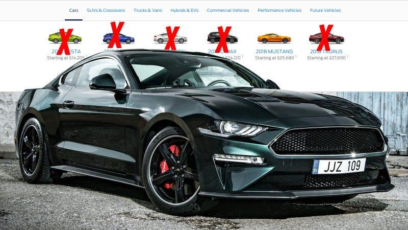 Illustration for article titled Ford dejará de fabricar sus autos en América del Norte (excepto dos modelos)