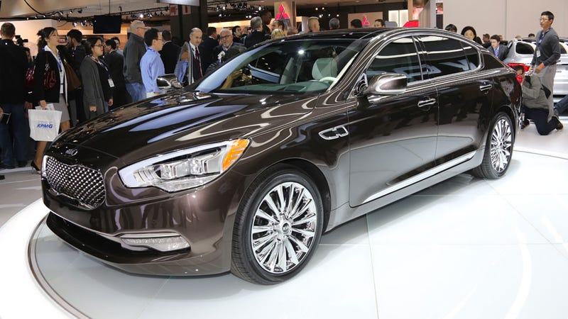 Kia Proves That Luxury Cars Can T Have Real Names To Sell In The U S
