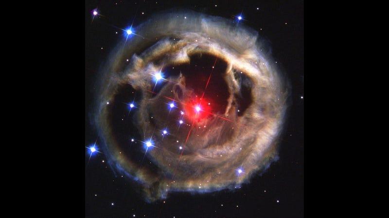 """V838 Monocerotis – a possible Luminous red nova"" (Image: NASA, ESA and H.E. Bond (STScI)/Wikimedia Commons)"