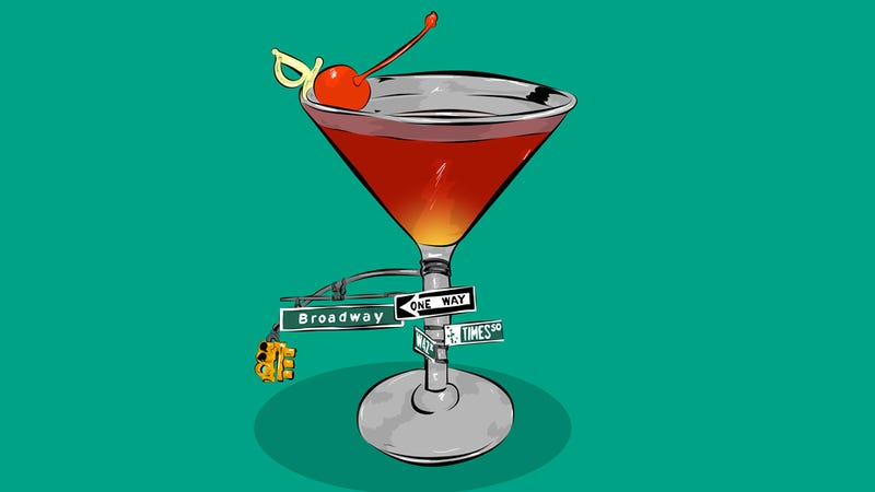 Illustration for article titled How To Make An Adequate Manhattan