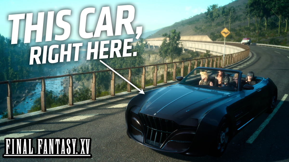 Everything We Know About The Car In Final Fantasy Xv