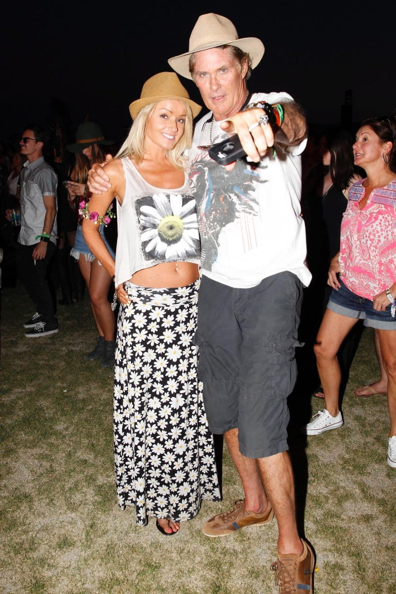 Illustration for article titled I think this picture of Hoff at Coachella sums it all up
