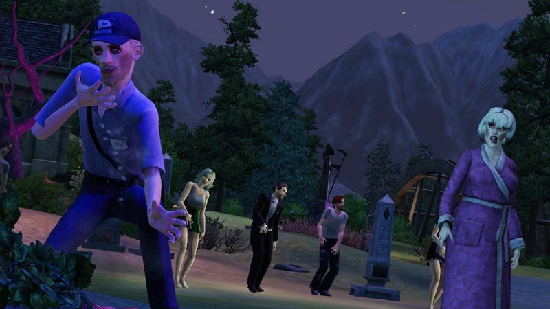 Illustration for article titled Werewolves, Zombies and Fairies Run Amok in The Sims 3 Supernatural