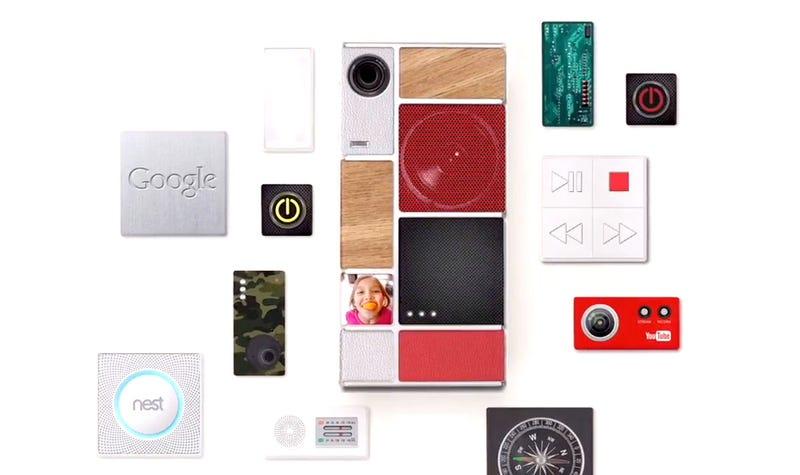 Illustration for article titled Google probará sus móviles modulares Ara en Puerto Rico este año
